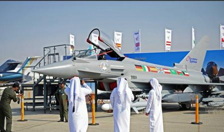 Авиакосмическая выставка Dubai Airshow 2017