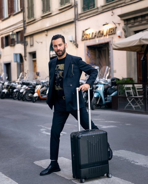 Montblanc представил багаж для деловых поездок