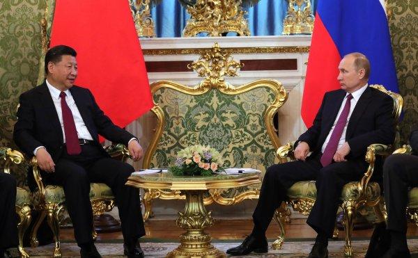 Между лидерами Китая и России состоялся телефонный разговор