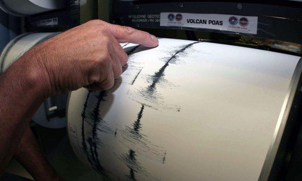 На острове Хонсю зафиксировано землетрясение в 4,7 балла