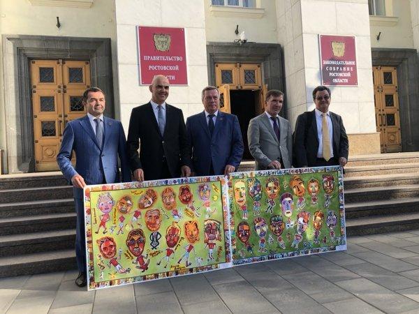 Президент Швейцарии побывал в Таганроге во время ЧМ-2018