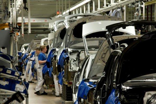 Производство автомобилей а России увеличилось на 18%