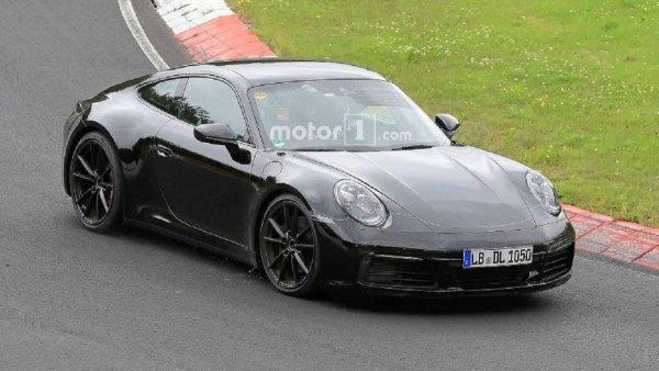 Porsche проводит тесты обновленной вариации купе 911