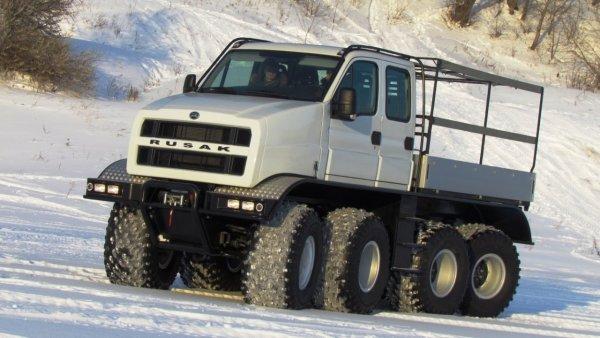В России создали вездеход нового поколения «Русак»