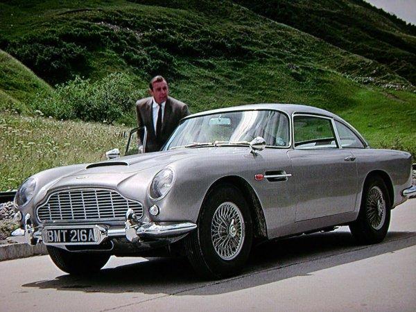 За данные о легендарном автомобиле Джеймса Бонда заплатят шестизначную сумму
