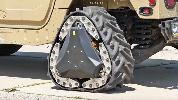 Для военных США разработали колесо-трансформер