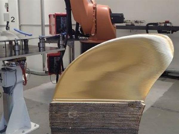 Военный корабль получил 300-килограммовую деталь, сделанную на 3D-принтере
