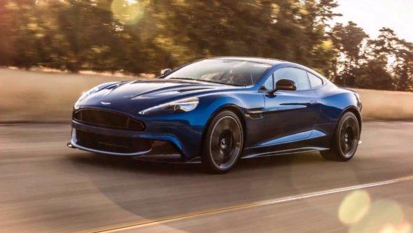 Новое 725-сильное купе Aston Martin DBS Superleggera рассекретили до премьеры