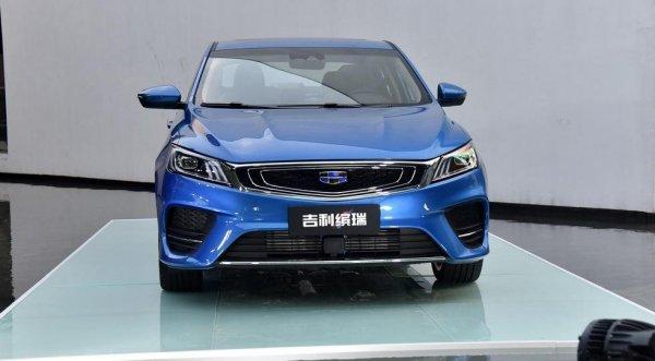 Geely представила в Китае новый купеобразный седан SL