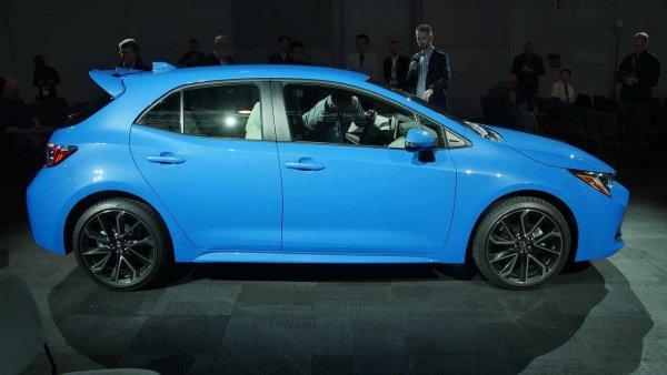 Представлен хэтчбек Toyota Corolla Sport с полным приводом