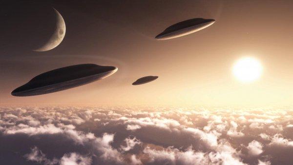 В США очевидец заснял взорвавшийся НЛО