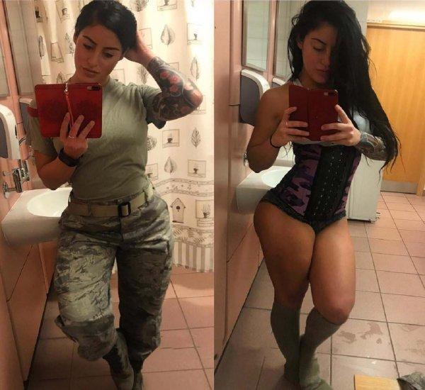 Женщина ушла из армии и разбогатела благодаря Instagram
