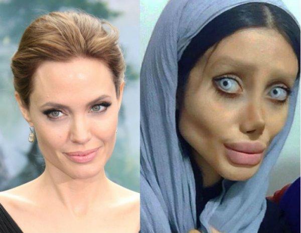 Страшная копия Джоли из Ирана показала реальное фото без грима