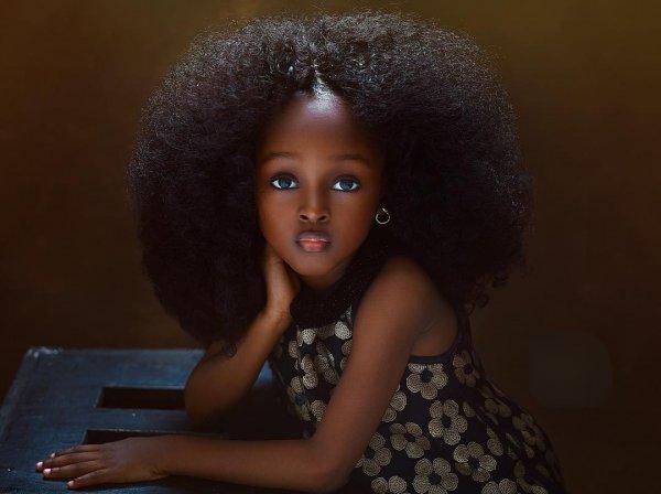 «Самую красивую в мире девочку» нашли в Нигерии