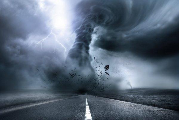 В Британии прошел мощный шторм с градом неимоверной силы