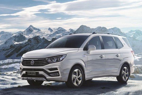 Новый минивэн SsangYong Korando Turismo готовится к выходу на европейский рынок