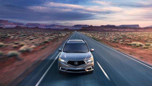 Acura представила новую версию кроссовера MDX