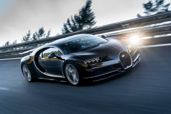 Представлено видео с новым гиперкаром Bugatti за 5 млн евро