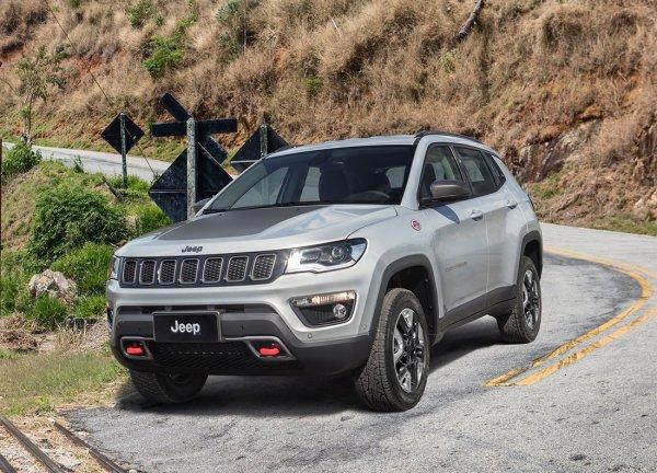 Jeep назвал цены на новый кроссовер Jeep Compass для рынка России