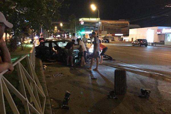 Власти Краснодара оценили ущерб от ДТП с участием автомобиля Смолова