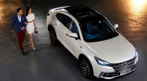 Changan представил кросс-купе с новым CS85