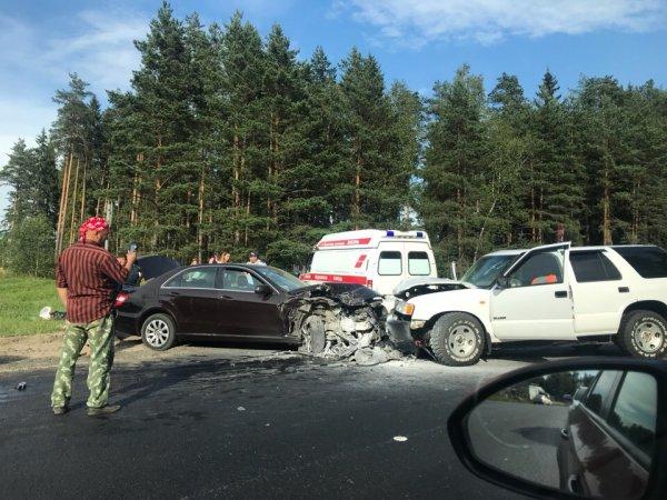 В Киржачском районе Владимирской области в ДТП пострадали трое пассажиров