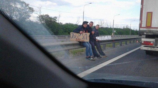 «Подставные старухи» и детский труд: Жителей Лосево обвиняют в «диверсиях» на М4 «Дон»