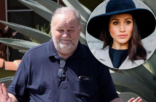 СМИ: Меган Маркл обманула своего отца, который мечтает снова увидеть дочь