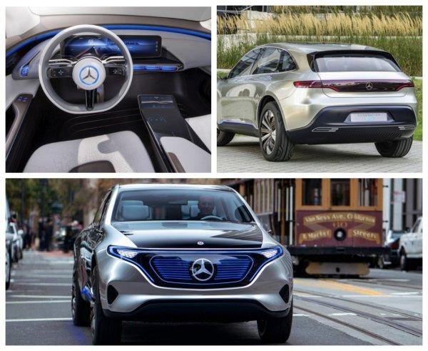 Daimler раскрыл дату премьеры электрокросса Mercedes-Benz EQC