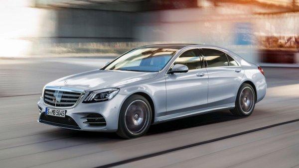 Mercedes-Benz S-Class впервые получит 2-литровый мотор
