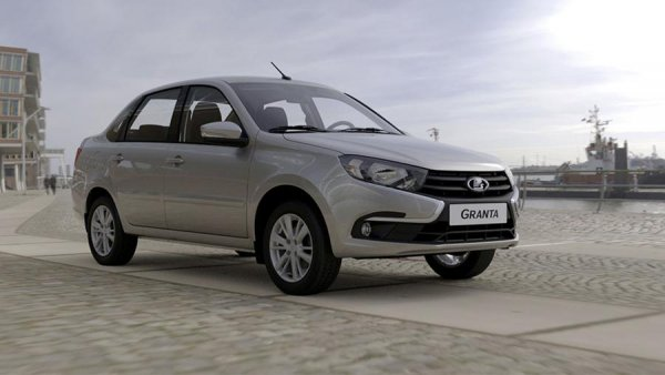 В России стартовали продажи обновленной LADA Granta