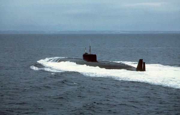 Атомная ударная подлодка США подошла к Средиземному морю