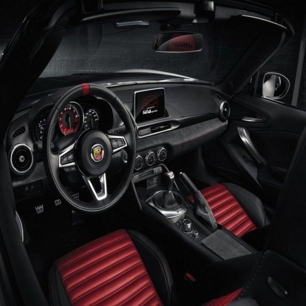 Обновленный родстер Fiat 124 Spider Abarth представят уже на этой неделе