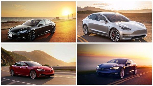 Илон Маск сообщил о сокращении цветовой палитры Tesla