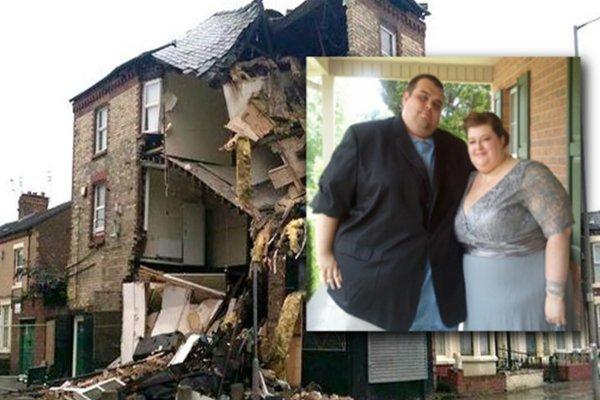 Секс пары с ожирением привёл к разрушению трёхэтажного здания