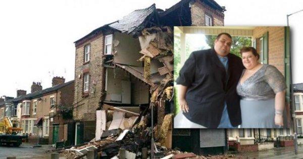 Секс между парой с ожирением закончился обвалом трёхэтажного дома