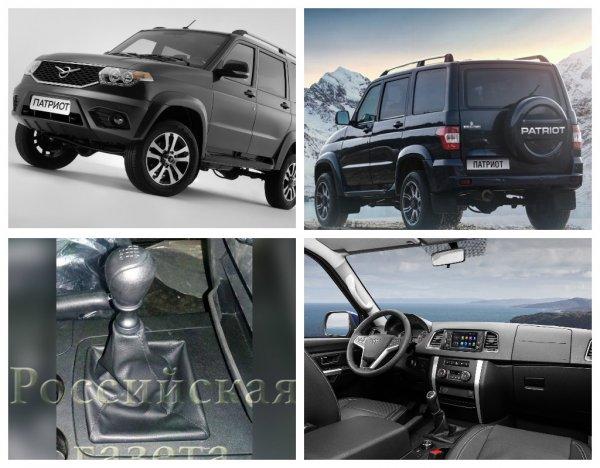 Новый внедорожник УАЗ «Патриот» получил китайскую трансмиссию