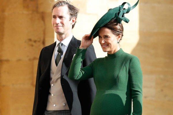 СМИ: Кейт Миддлтон впервые увидела сына своей младшей сестры