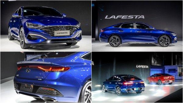 Молодёжный седан Hyundai Lafesta начали продавать в Китае