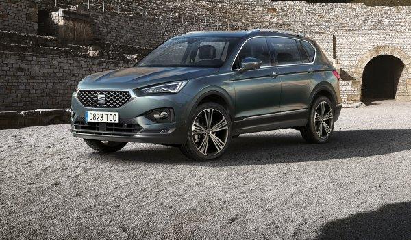 Новый SEAT Tarraco начнут выпускать на главном заводе Volkswagen