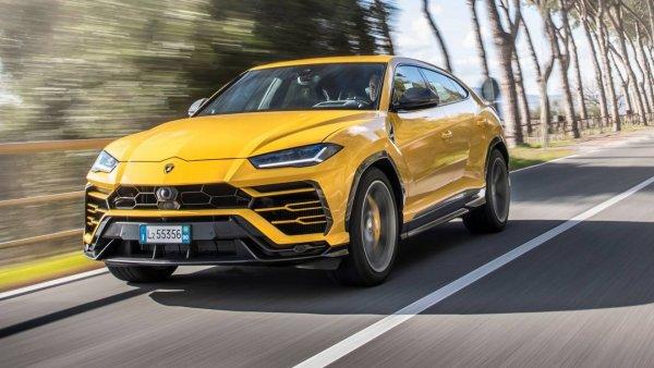 В Италии тестируют обновленный Lamborghini Urus