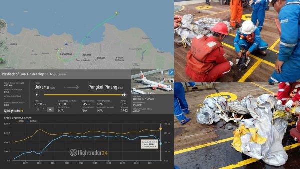 Индонезийские спасатели нашли останки пассажирского самолета Lion Air, он был пригоден к полету