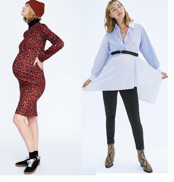 Zara запускает в продажу одежду для беременных