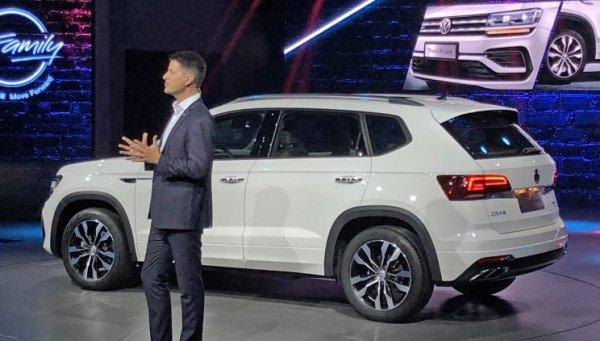 Представлена новая версия кроссовера Volkswagen Tharu R-Line