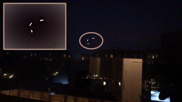 Уфологи обеспокоены: В Дании очевидцы заметили сразу три НЛО