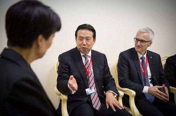 «Пропавший» президент Интерпола находится под следствием в Китае