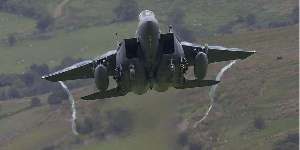 Истребители США F-15 и C-130 примут участие в военных учениях в Украине