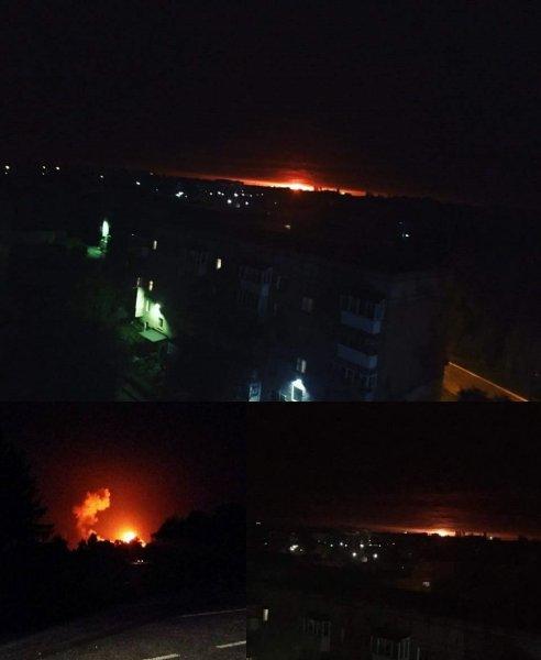 В Черниговской области на складе боеприпасов произошел серьезный взрыв