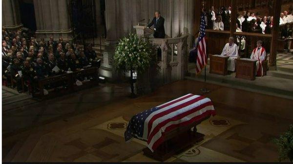 Похороны Джорджа Буша-старшего: Мировые лидеры склонили головы