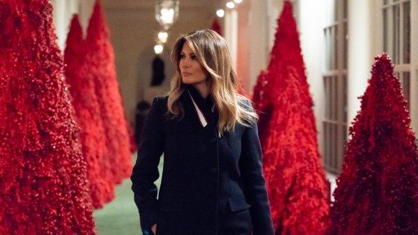 В Белом доме поломали «кровавые» ёлки Мелании Трамп – СМИ